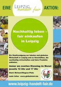 Stadtrundgang: Nachhaltig leben, fair einkaufen in Leipzig