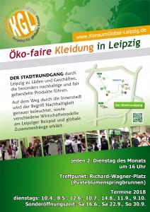 Positiv-Stadtrundgang Öko-faire Kleidung in Leipzig